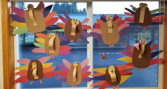 Turkeys in Mrs. Penk's Classroom