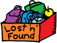LOST AND FOUND IN THE ROTUNDA THIS WEEK - DONATED OVER BREAK!