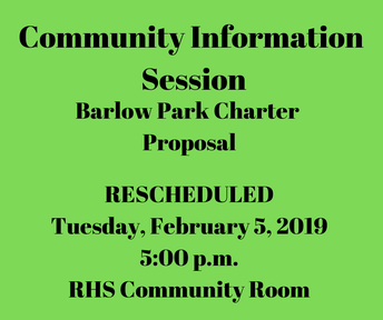 Barlow Park Charter Proposal