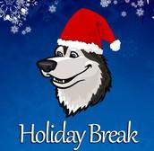 Holiday Break/No School