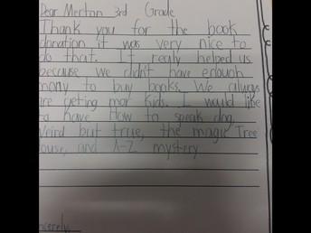 "LaFarge Elementary Says, ""Thank you!"""