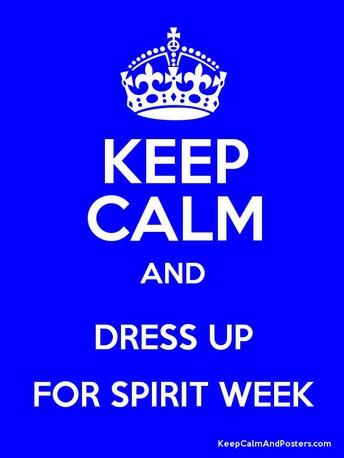 School Spirit Week January 8 - 12