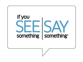 Encourage your student: See Something, Say Something!