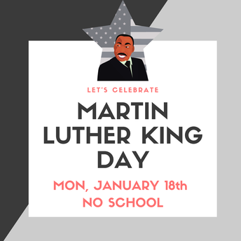 🔳 Martin Luther King Day 🔳