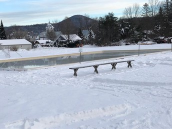 The best ice skating rink I have ever seen!