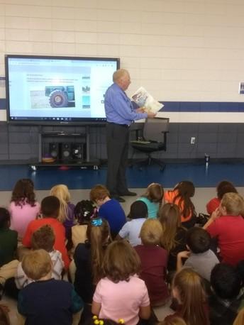 Heard Elementary School Celebrates Farm City Week with the Georgia Farm Bureau