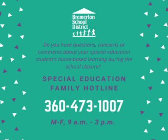 Special Education hotline
