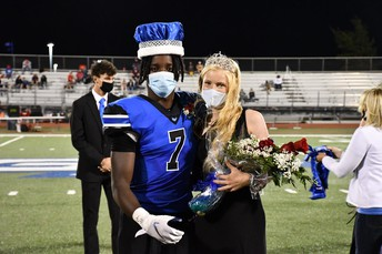 2020 Homecoming King and Queen