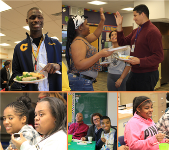 Skills for Life Students Host Thanksgiving Feast
