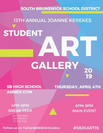 15th Annual Joanne Kerekes Student Art Gallery