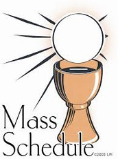 Daily Mass & Reconciliation Times