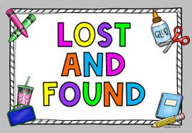 Lost and Found:  Please write names in jackets!