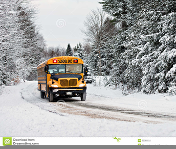 Bus Cancellations on Inclement Weather Days