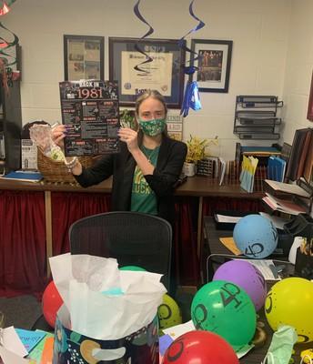 Happy Birthday to Mrs. Britton!