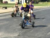 Juniors win Trike Race Event