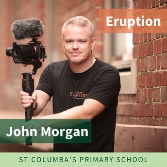 School Video by John Morgan - Eruption