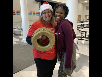 December Tireless Teacher Award Winner