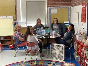 4th Grade Team Planning Time!