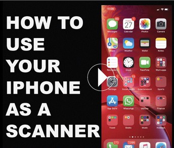 How to Use Your Iphone As a Scanner
