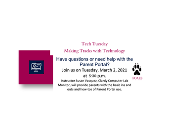 Tech Tuesday -- Making Tracks with Technology