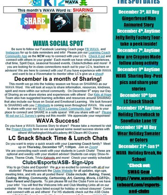Social Spot December