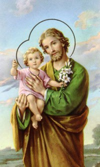 St. Joseph: Feast Days - March 19 and May 1