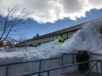 Thank you District Maintenance Team for assisting with snow removal!