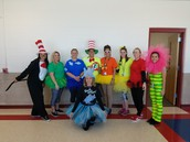 Dr. Seuss dress up day