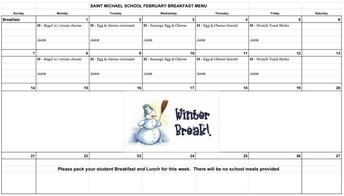 A look ahead to February breakfast