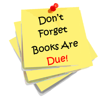 All Library Books Due May 22