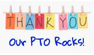 Thank you PTO!