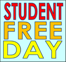 Friday, November 20th is a Student Free Day!