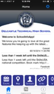 Delcastle School App