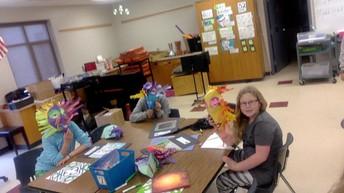Mrs. Foxen's 5th Grade Art Students