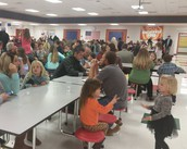 It was great to see so many parents at school!