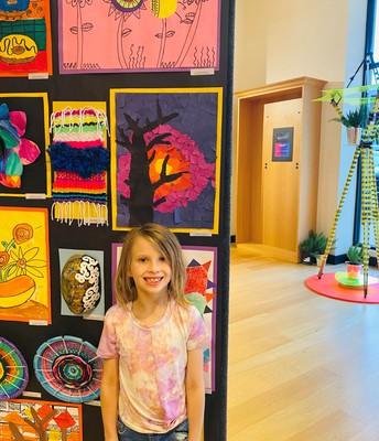 Miss Macyn Miller, 1st Grade Artist