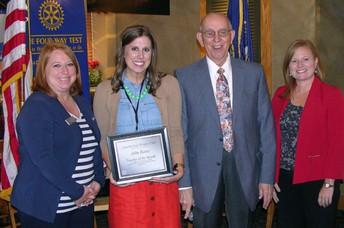 Teacher of the Month - Mrs. Abby Rezac