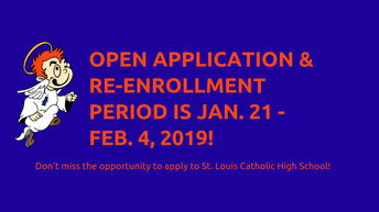 Re-Enroll for 2019-2020 School Year Starting Monday