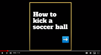 How to: Soccer Edition
