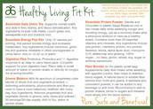 Sample Insert Nutrition Fit Kit (Front)