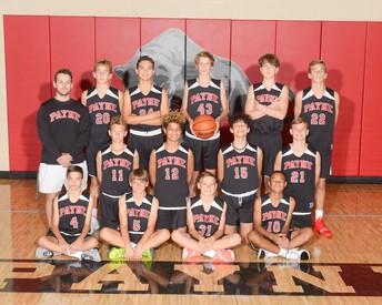 2020 8th Grade Boys Basketball team