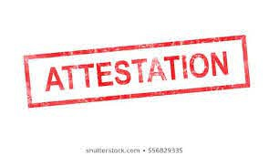 Attestation Forms