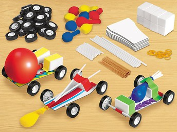 Design and Play: STEAM Cars Kit