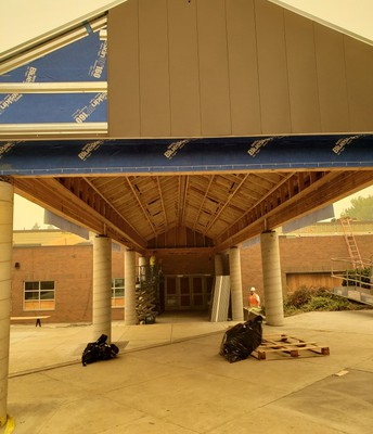 Front Entry Canopy