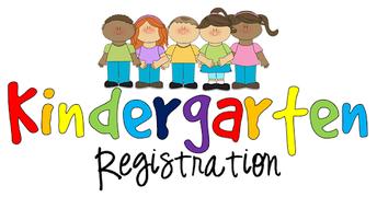 3. Kindergarten Registration is now open!