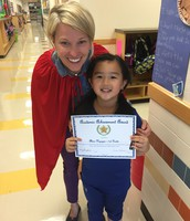 Alina Nguyen in Mrs. Alanis' 1st Grade Class