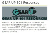 GEAR UP Resouce Website