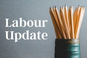 Labour Update