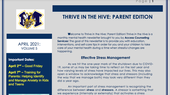 Thrive in the Hive-Mental Health Resources for Families