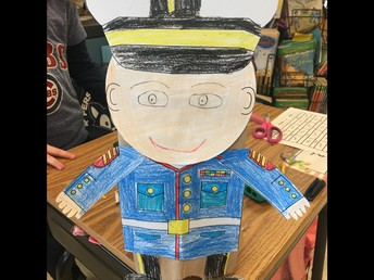 2nd Grade Veterans Day Art